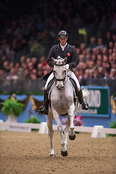 Eilberg Michael (GBR) - Half Moon Delphi<br /> Kur - Reem Acra FEI World Cup Dressage Qualifier - The London International Horse Show Olympia - London 2012<br /> © Hippo Foto - Jon Stroud