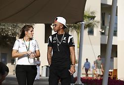 November 24, 2016 - Abu Dhabi, VAE - Motorsports: FIA Formula One World Championship 2016, Grand Prix of Abu Dhabi, .#44 Lewis Hamilton (GBR, Mercedes AMG Petronas Formula One Team) (Credit Image: © Hoch Zwei via ZUMA Wire)