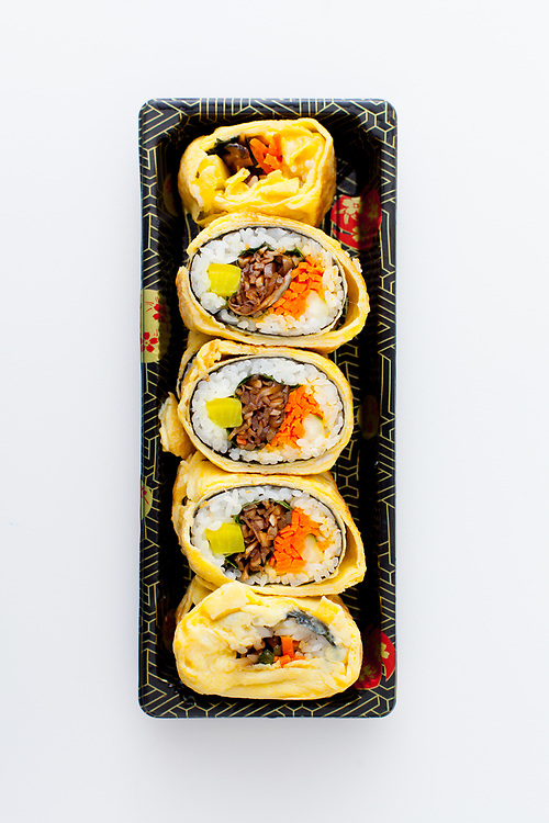 Veggie Kimbap w/ Egg  Cafe Manna ($7.57)
