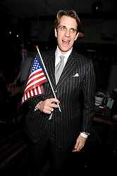 BEN ELLIOT a party hosted my Quintessentially at The Chicago Rib Shack, Knightsbridge to celebrate the inauguration of Barak Obama as President of the USA on 20th January 2009.