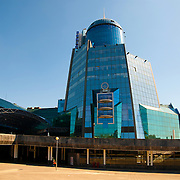 Train Station New Modern Building In Samara, Russia