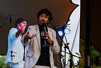 Marcel Lucont at the Also Festival 2021 at Compton Verney .photo by Mark anton Smith