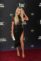 Khloe Kardashian at the 2019 E! People's Choice Awards held at the Barker Hangar in Santa Monica, USA on November 10, 2019.