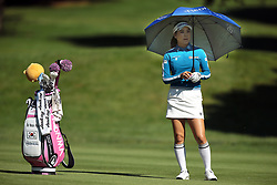 June 14, 2018 - Belmont, Michigan, United States - So Yeon Ryu of Korea waits on the 9th green during the first round of the Meijer LPGA Classic golf tournament at Blythefield Country Club in Belmont, MI, USA  Thursday, June 14, 2018. (Credit Image: © Jorge Lemus/NurPhoto via ZUMA Press)