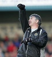 Photo: Lee Earle.<br /> Torquay United v Swindon Town. Coca Cola League 2. 18/11/2006. Torquay manager Ian Atkins.