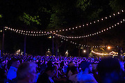 August 11, 2016- Brooklyn, New York-United States: Audience at Recording Artist Herbie Hancock performance at a Benefit Concert for BRIC Celebrate Brooklyn in Brooklyn's Prospect Park on August 11, 2016 in Brooklyn, New York. BRIC is the leading presenter of free cultural programming in Brooklyn, and one of the largest in New York City.  (Terrence Jennings/terrencejennings.com)