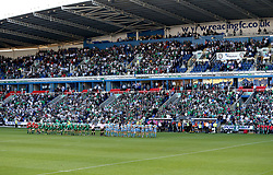 A minutes silence is observed by London Irish and Yorkshire Carnegie for the victims of the Terror Attack at Manchester Arena - Mandatory by-line: Robbie Stephenson/JMP - 24/05/2017 - RUGBY - Madejski Stadium - Reading, England - London Irish v Yorkshire Carnegie - Greene King IPA Championship Final 2nd Leg