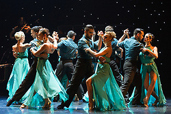 © Licensed to London News Pictures. 29/02/2016. London, UK. The Argentine Tango show Immortal Tango created by German Cornejo opens at the Peacock Theatre on 1 March 2016 and runs until 19 March 2016. Photo credit: Bettina Strenske/LNP