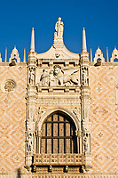 the dodge duke palace pazzia san marco saint mark place in the beautiful city of venice in italy