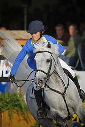 Melchior Judy Ann (BEL) - Levisto Z<br /> World Championship Young Horses Lanaken 2008<br /> Photo Copyright Hippo Foto
