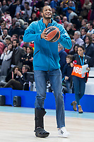 Real Madrid Anthony Randolph during Turkish Airlines Euroleague match between Real Madrid and FC Barcelona Lassa at Wizink Center in Madrid, Spain. December 14, 2017. (ALTERPHOTOS/Borja B.Hojas)