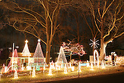 An image from the series Season's Greetings, documenting Christmas in my native North Carolina.<br /> <br /> Lake Myra Christmas lights in Wendell, North Carolina.