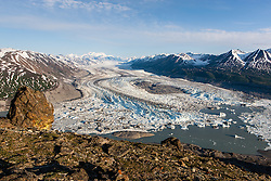 Lowell Glacier in Kluane National Park, Yukon