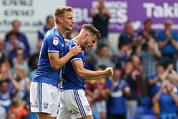 Luke Garbutt of Ipswich Town celebrates scoring to make it 1-0 - Mandatory by-line: Arron Gent/JMP - 10/08/2019 - FOOTBALL - Portman Road - Ipswich, England - Ipswich Town v Sunderland - Sky Bet League One
