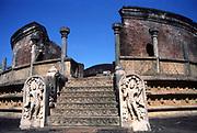 The Image House or Vatadage at Polonnaruwa.