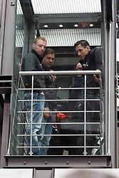 24.06.2011, Mercedes Benz, Köln, GER, Boxen, Wiegen Felix Sturm vs. Matthew Macklin ,im Bild:  Felix Sturm (R) kommt mit den Aufzug  EXPA Pictures © 2011, PhotoCredit: EXPA/ nph/  Mueller       ****** out of GER / SWE / CRO  / BEL ******