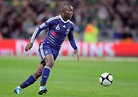 Fotball<br /> Irland v Frankrike<br /> Foto: DPPI/Digitalsport<br /> NORWAY ONLY<br /> <br /> FOOTBALL - FIFA WORLD CUP 2010 - PLAY OFFS - REPUBLIC OF IRELAND v  FRANCE - 14/11/2009<br /> <br /> LASSANA DIARRA (FRA)