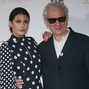 London, England, UK. 21th September 2017. Sybilla Deen and Elliot Grove founder of Raindance attend Lies We Tell Film Premiere at Vue Leicester Square