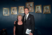 David Walliams and his mum, Party after the opening of  'Prick Up Your Ear's'  at the Comedy theatre. Cafe de Paris. Leicester Sq. London. 30 September 2009