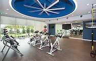 Corporate Interior Photograph of gymnasium