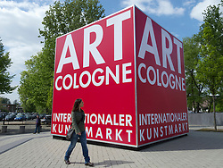 Art Cologne trade and public art fair in Cologne Germany 2011