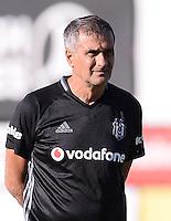 Coach Senol Gunes of Besiktas .