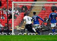 Photo: Alan Crowhurst.<br />England U21 v Italy U21. International Friendly. 24/03/2007. England's David Bentley scores form a free kick. 1-1.