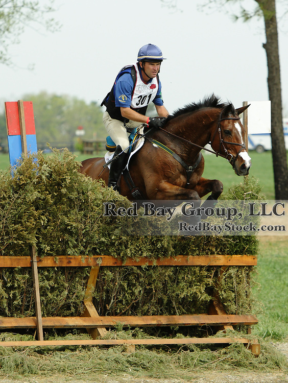 Phillip Dutton and Tru Luck at The Fork Horse Trials in Norwood, North Carolina.