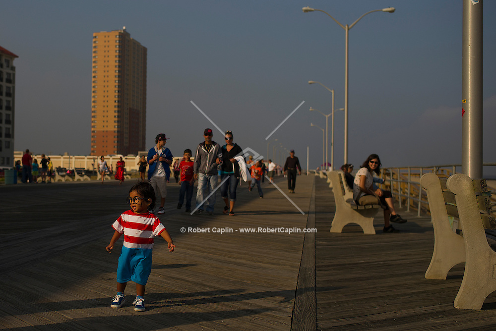 New Jersey's Asbury Park Zombie Walk 2013. <br /> <br /> (Photo by Robert Caplin)