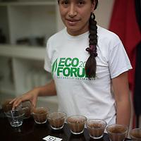 Tanya Juliana Gonzalez García, assistant for quality control and tasting at NORANDINO de Café, Piura, Peru.
