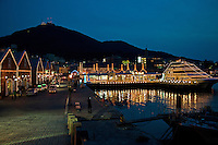 Hakodate Harbor - thanks to its location Hakodate has long been the gateway to Hokkaido enjoying an active trade market since its excellent port has long been on established trade routes and its booming fishing industry.