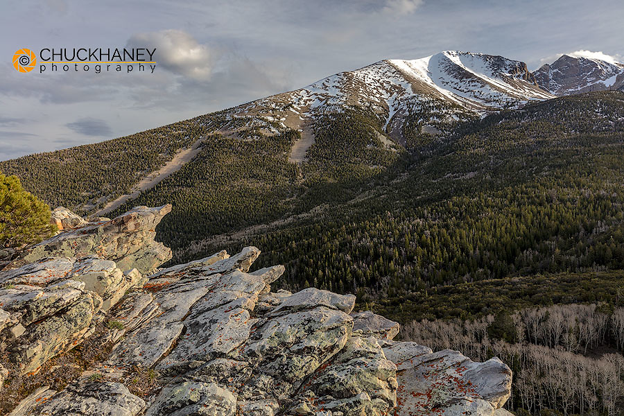 Wheeler Peak in Great Basin National Park, Nevada, USA