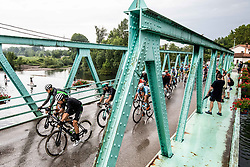 Peloton in Rence during 4th Stage of 26th Tour of Slovenia 2019 cycling race between Nova Gorica and Ajdovscina (153,9 km), on June 22, 2019 in Slovenia. Photo by Vid Ponikvar / Sportida