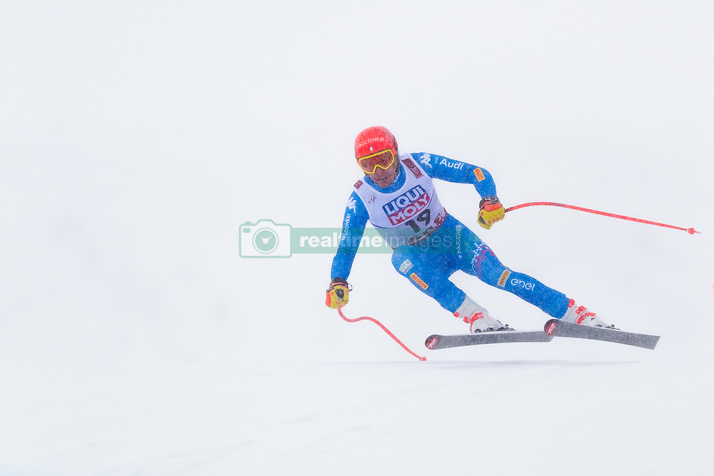 February 9, 2019 - Re, SWEDEN - 190209 Christof Innerhofer of Italy competes in the downhill during the FIS Alpine World Ski Championships on February 9, 2019 in re  (Credit Image: © Daniel Stiller/Bildbyran via ZUMA Press)