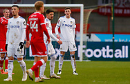 Leeds United defender Oliver Casey (49)  during the The FA Cup match between Crawley Town and Leeds United at The People's Pension Stadium, Crawley, England on 10 January 2021.