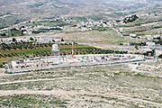 Israel, West Bank, Judaea, Israeli military camp