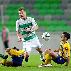 20110924: SLO, Football - PrvaLiga, NK Olimpija Ljubljana vs Luka Koper