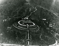 1918 Aerial of The Bernheimer Residence (now Yamashiro Restaurant) and the Hollywood Hills