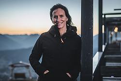 22.10.2018, Rosshuette, Seefeld, AUT, Marit Bjoergen im Portrait, im Bild Marit Bjoergen (NOR) posiert während einer Fotosession // the Norwegian Cross Copuntry Skiier Marit Bjoergen poses for a portrait during a photo session at the Rosshuettte in Seefeld, Austria on 2018/10/22. EXPA Pictures © 2018, PhotoCredit: EXPA/ JFK