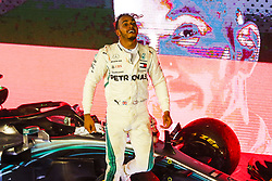 September 16, 2018 - Singapore, Singapore - Motorsports: FIA Formula One World Championship 2018, Grand Prix of Singapore, .#44 Lewis Hamilton (GBR, Mercedes AMG Petronas Motorsport) (Credit Image: © Hoch Zwei via ZUMA Wire)