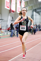 womens 3000 meters, heat 3, Brown<br /> BU John Terrier Classic <br /> Indoor Track & Field Meet