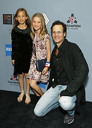 """Randall Batinkoff and family at DTLA Film Festival """"INSIDE GAME"""" Los Angeles Premiere held at Regal LA Live on October 24, 2019 in Los Angeles, California, United States (Photo by © Michael Tran/VipEventPhotography.com"""