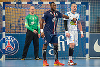 Zacharia N Diaye / Muhamed Toromanovic - 22.04.2015 - PSG / Creteil - 21eme journee de D1<br /> Photo : Andre Ferreira / Icon Sport