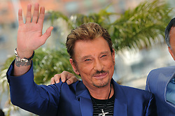 File photo : Johnny Hallyday attends the 'Vengeance' Photocall held at the Palais Des Festival during the 62nd International Cannes Film Festival in Cannes, France on May 17, 2009. France's biggest rock star Johnny Hallyday has died from lung cancer, his wife says. He was 74. The singer - real name Jean-Philippe Smet - sold about 100 million records and starred in a number of films. Photo by Nebinger-Orban/ABACAPRESS.COM
