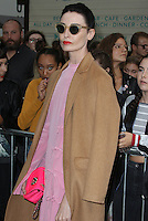 Erin O'Connor, London Fashion Week SS17 - Topshop, Old Spitalfields Market, London UK, 18 September 2016, Photo by Brett D. Cove