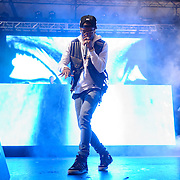 WASHINGTON, DC - August 23rd, 2014 - Detroit rapper Big Sean headlines the 3rd annual Trillectro Music Festival at RFK Stadium in Washington, D.C. His 2013 album Hall of Fame debuted at #3 on the US Billboard album chart. (Photo by Kyle Gustafson / For The Washington Post)
