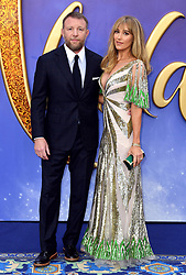 Guy Ritchie and Jacqui Ritchie attending the Aladdin European Premiere held at the ODEON Luxe Leicester Square, London