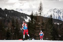 February 22, 2019 - Seefeld In Tirol, AUSTRIA - 190222 Kari ¯yre Slind of Norway at a cross-country skiing training session during the FIS Nordic World Ski Championships on February 22, 2019 in Seefeld in Tirol..Photo: Joel Marklund / BILDBYRN / kod JM / 87881 (Credit Image: © Joel Marklund/Bildbyran via ZUMA Press)