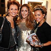 NLD/Amsterdam/20101011 - Presentatie By Danie Styleguide magazine, Leontine Borsato - Ruiters, Sylvie van der Vaart en Danie Bles