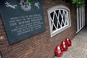 Nederland, Oosterbeek, 22-7-2007Klein oorlogsmonument op de Westerbouwing bij Arnhem ter nagedachtenis aan de luchtlanding ihkv operatie Market Garden in de tweede wereldoorlog. Foto: Flip Franssen